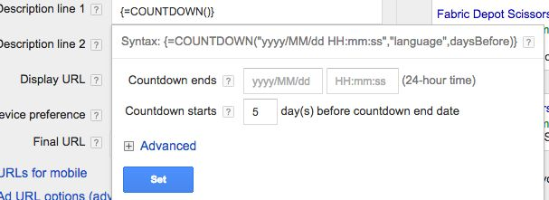 Adwords countdown ads 3